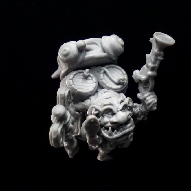 Bartolomy Bang Fantasy miniature in 32 mm scale