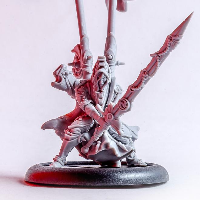 Cailu - Fantasy elf miniature