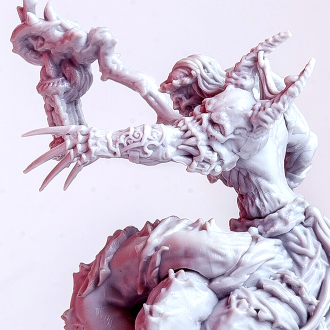 Ishi - fantasy demon miniature