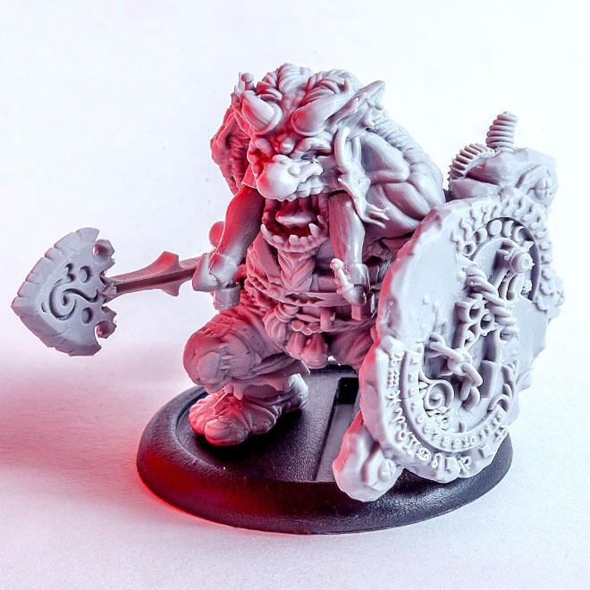 Marcus - Fantasy troll miniature