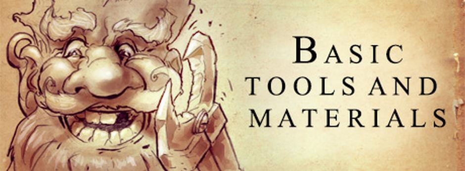 Basic tools and materials Tools%20and%20materials-bigjeszczeraz
